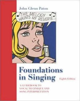 Foundations in Singing, by Paton, 8th Edition 8 PKG 9780073212753