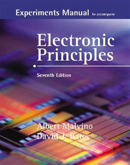 Electronic Principles, by Malvino, 7th Edition, Experiments Manual 7 w/CD 9780073254821