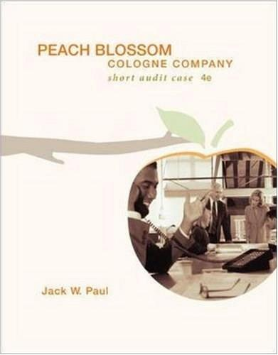 Peach Blossom Cologne Company, by Paul, 4th Edition, Worktext 4 w/CD 9780073276595