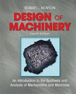 Design of Machinery, by Norton, 4th Edition 4 w/DVD 9780073290980