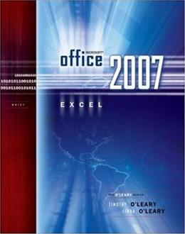 Microsoft Office Excel 2007, by O