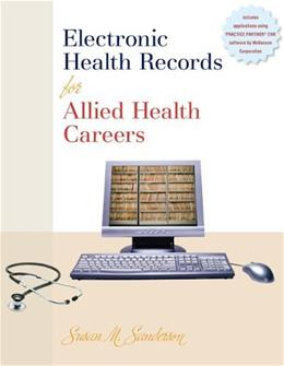 Electronic Health Records for Allied Health Careers, by Sanderson BK w/CD 9780073309781