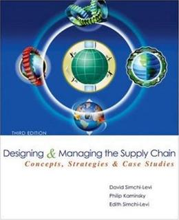Designing and Managing the Supply Chain 3e with Student CD 3 w/CD 9780073341521