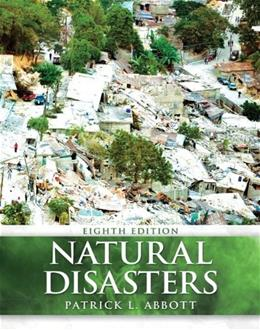 Natural Disasters, by Abbott, 8th Edition 9780073369372