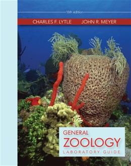 General Zoology, by Lytle, 16th Edition, Lab Manual 9780073369457