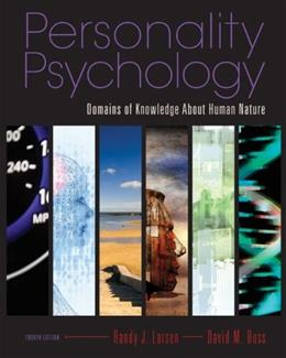 Personality Psychology: Domains of Knowledge About Human Nature, 4th Edition 9780073370682