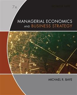 Managerial Economics & Business Strategy 7 9780073375960