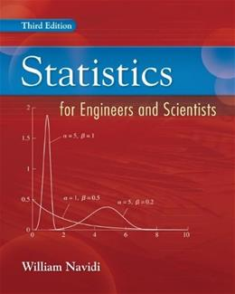 Statistics for Engineers and Scientists 3 9780073376332