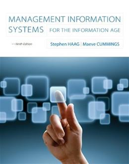 Management Information Systems for the Information Age 9 9780073376851