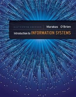 Introduction to Information Systems 16 9780073376882