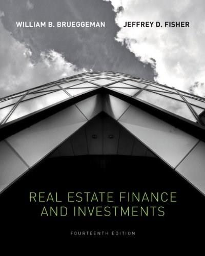 Real Estate Finance & Investments (The McGraw-Hill/Irwin Series in Finance, Insurance, and Real Estate) 14 9780073377339