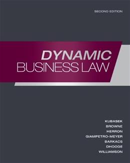 Dynamic Business Law 2 9780073377674