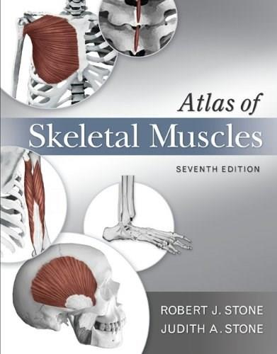 Atlas of Skeletal Muscles, by Stone, 7th Edition 9780073378169