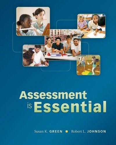 Assessment is Essential 1 9780073378725