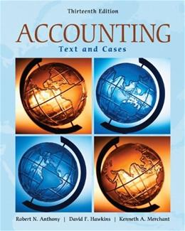 Accounting: Texts and Cases 13 9780073379593