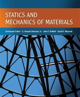 Statics and Mechanics of Materials 1 9780073380155