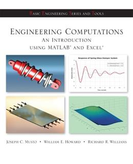 Engineering Computation: An Introduction Using MATLAB and Excel 1 9780073380162