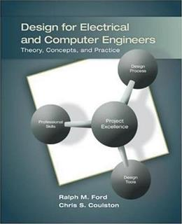 Design for Electrical and Computer Engineers 1 9780073380353