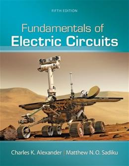 Fundamentals of Electric Circuits 5 9780073380575
