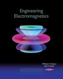 Engineering Electromagnetics, by Hayt, 8th Edition 9780073380667