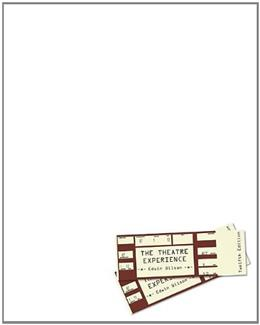 The Theatre Experience, 12th Edition 9780073382197