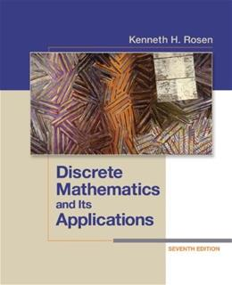 Discrete Mathematics and Its Applications Seventh Edition 7 9780073383095