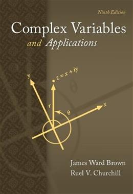 Complex Variables and Applications (Brown and Churchill) 9 9780073383170