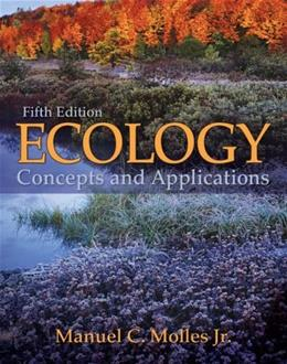 Ecology: Concepts and Applications, by Molles, 5th Edition 9780073383224