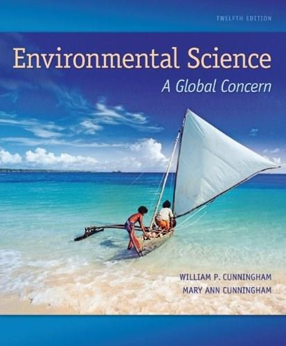 Environmental Science: A Global Concern 12 9780073383255