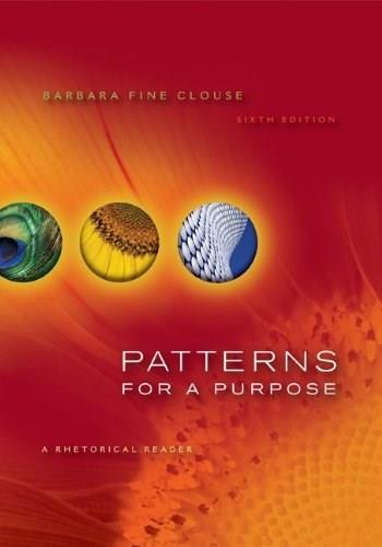 Patterns for a Purpose 6 9780073383958