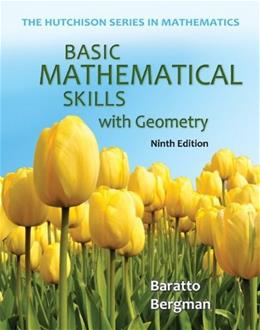 Basic Mathematical Skills with Geometry (The Hutchison Series in Mathematics) 9 9780073384443