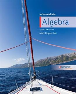 Intermediate Algebra 7 9780073384573