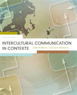 Intercultural Communication in Contexts 5 9780073385129