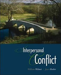 Interpersonal Conflict 8 9780073385136
