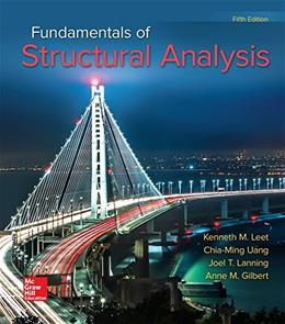 Fundamentals of Structural Analysis 5 9780073398006