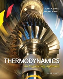 Thermodynamics: An Engineering Approach 8 9780073398174