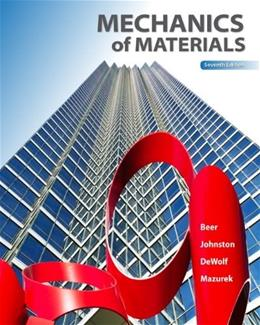 Mechanics of Materials, 7th Edition 9780073398235