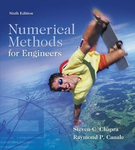 Numerical Methods for Engineers, Sixth Edition 6 9780073401065