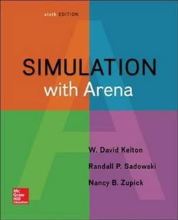 Simulation with Arena 6 9780073401317