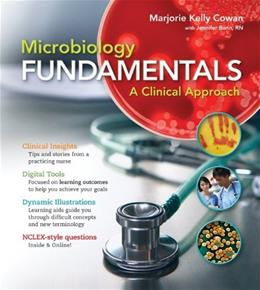 Microbiology Fundamentals: A Clinical Approach 1 9780073402352
