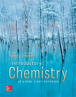 Introductory Chemistry: An Atoms First Approach, by Burdge 9780073402703