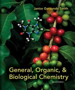 General, Organic, & Biological Chemistry 2 9780073402789