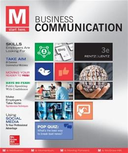 M: Business Communication - Standalone book 3 9780073403229