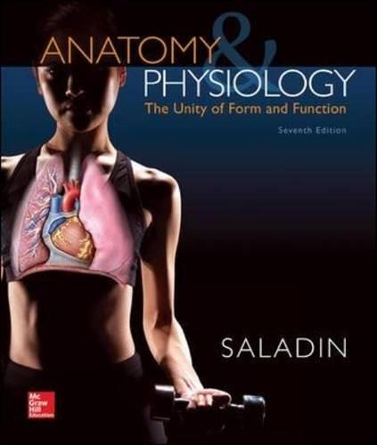 Anatomy & Physiology: The Unity of Form and Function (Standalone Book) 7 9780073403717