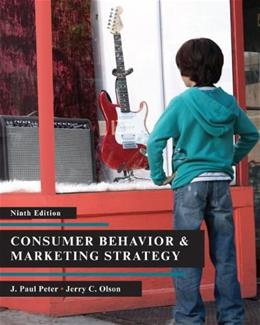 Consumer Behavior 9 9780073404769