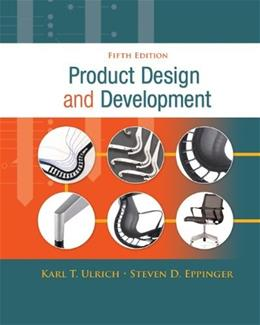 Product Design and Development, 5th Edition 9780073404776