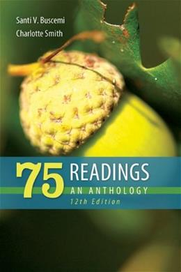 75 Readings: An Anthology 12 9780073405896