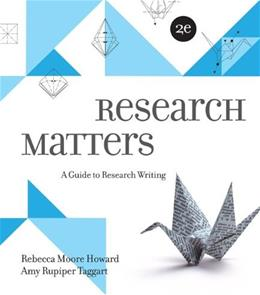 Research Matters 2 9780073405940