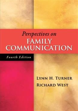 Perspectives on Family Communication 4 9780073406824
