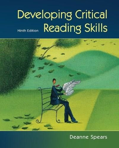 Developing Critical Reading Skills 9 9780073407326